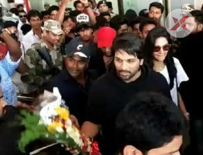 Allu Arjun as special guest at Nehru Trophy Boat Race
