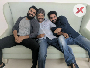 Rajamouli to house Arrest Charan and NTR
