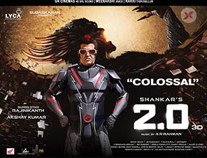 2point0 18 days worldwide collections