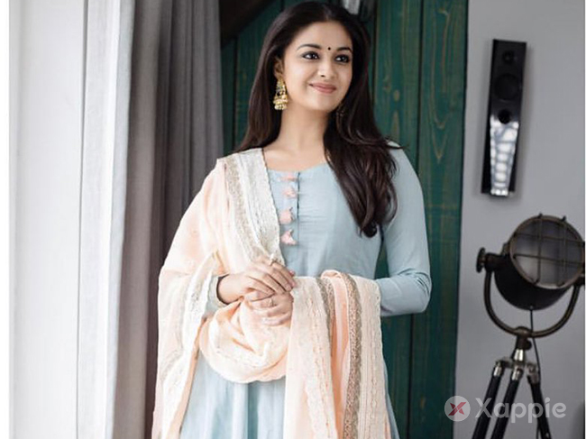 Keerthy is not willing to join the sets?