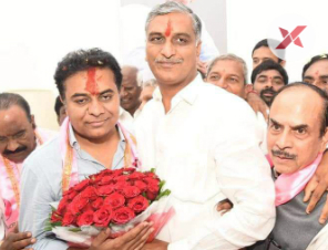 KTR takes charge as TRS Party Working President