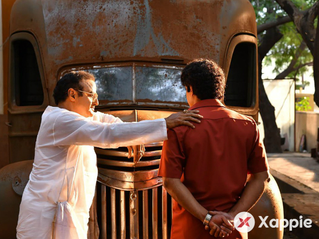 Yet another Picture from NTR Biopic sets