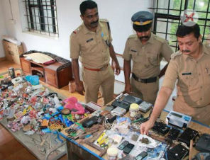Early morning raid unearths mobile phone, ganja, weapons at Kannur Central Prison