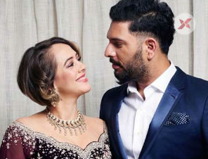 Yuvraj's wife revealed an emotional moment on his retirement day!