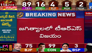 TRS Sanjay Kumar wins against Cong Jeevan Reddy in Jagityal