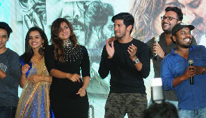 Dulquer Salmaan & Solo Movie Team Performance at Solo Movie Audio Launch