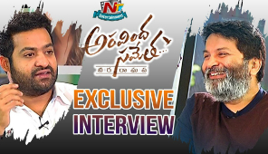 JR NTR & Trivikram Srinivas Exclusive Interview | Aravinda Sametha Movie | NTV Entertainment