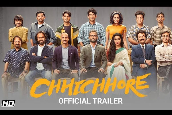 Chhichhore Hindi Movie Review and Rating