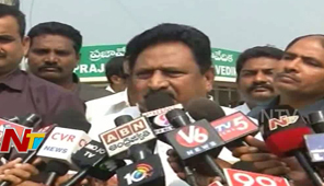 TDP Home Minister Chinarajappa Counters to YS Vijayamma Comments Over Attack on YS Jagan