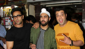 Pulkit Samrat, Varun Sharma, Manjot Singh Celebrate Success Party Fukrey Returns At Janata Bar