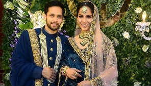 Saina Nehwal and Parupalli Kashyap hosts wedding reception party at Hyderabad