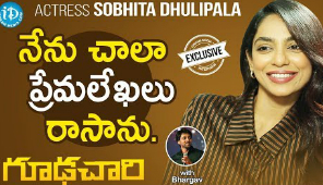 Goodachari actress, Shobita Dhulipala exclusive interview