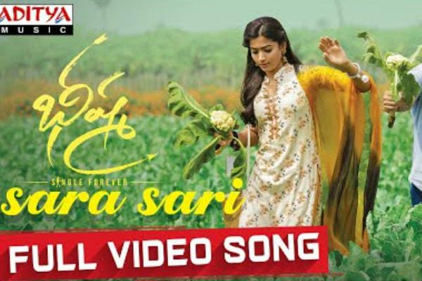 Bheeshma Movie Sara Sari Full Video Song Telugu Video Songs Tollywood Xappie