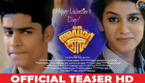 Oru Adaar Love, Official Teaser