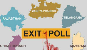 Poll of Exit Polls For Rajasthan, Telangana, Madhya Pradesh, Chattisgarh And Mizoram