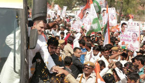 Congress Leads In 2 States, BJP Ahead In Madhya Pradesh, KCR Sweeps