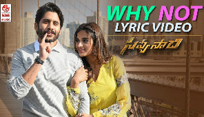 Why Not Full Song with Lyrics - Savyasachi Songs | Naga Chaitanya, Nidhi Agarwal | MM Keeravaani