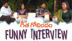 Geetha Govindam Team Funny Interview